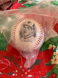 Cal Ripken limited edition photo ball by the numbers Toronto, M9A