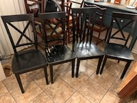 5 Black Dining Chairs Charlotte, 28216