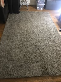 "6' 6"" x 10' brown shag rug Arlington, 22203"