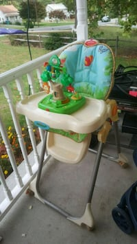 baby's white and green high chair Thurmont, 21788