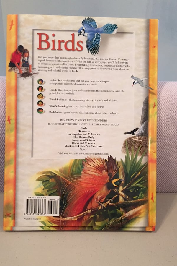 Readers digest Pathfinders. Birds. Hard cover book new. 1
