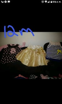 Baby girl clothes size 12 months Houston, 77080