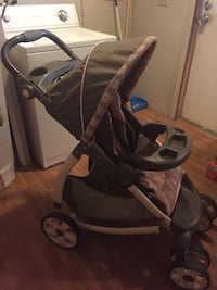 baby's black and gray stroller 603 mi