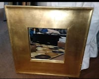 Large 5'x 5' Gold Accent Muirror Harahan, 70123