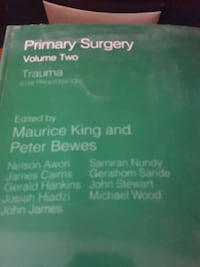 Primary surgery volume two Philadelphia, 19149