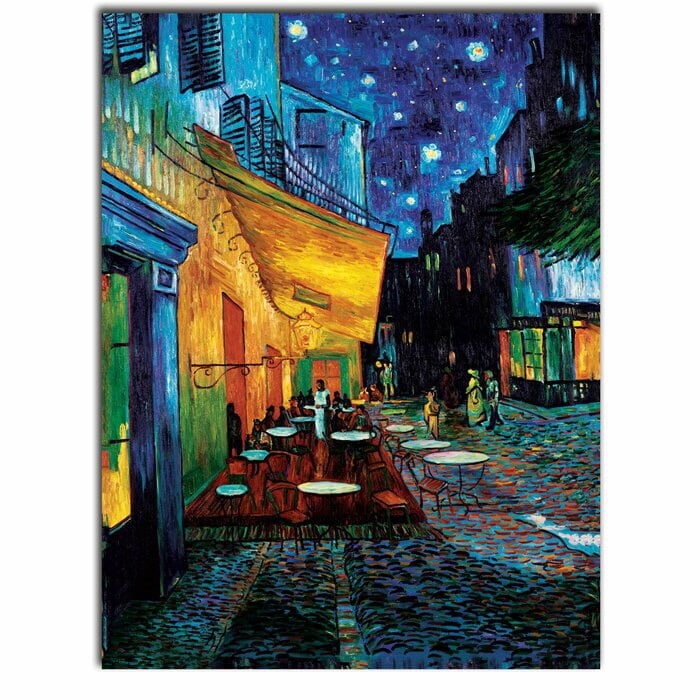 Cafe Terrace - Vincent Van Gogh Print