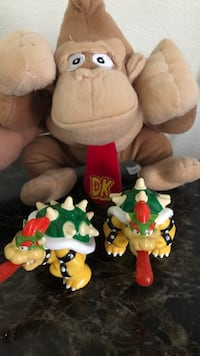 DK stuff animal and bowsers  Los Angeles, 90063