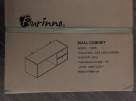 Wall Cabinet brown