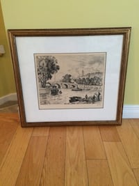 """Authentic Kelly """"The Seine """" Painting  Châteauguay, J6J"""