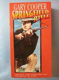 Springfield Rifle vhs Baltimore