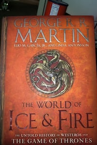 Game if Thrones The World of Ice & Fire