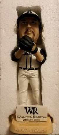 Roger Clemens Corpus Christie Hooks Bobblehead 2500 Made Sioux Falls, 57106