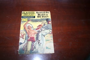 Around the World in 80 Days Classics Illustrated