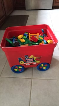 Lego duplo blocks huge bin East Amherst, 14051