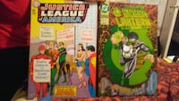 Justice League and Green Lantern DC comics