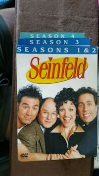 Seinfeld DVD collection Seasons 1 thru 4