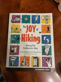 The joy of Hiking book