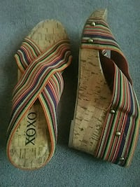 Multi color wedge sandal Scotchtown, 10941