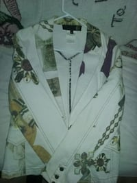 white, brown, and purple,golden jacket San Bernardino, 92405