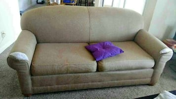 Ottoman wood couch
