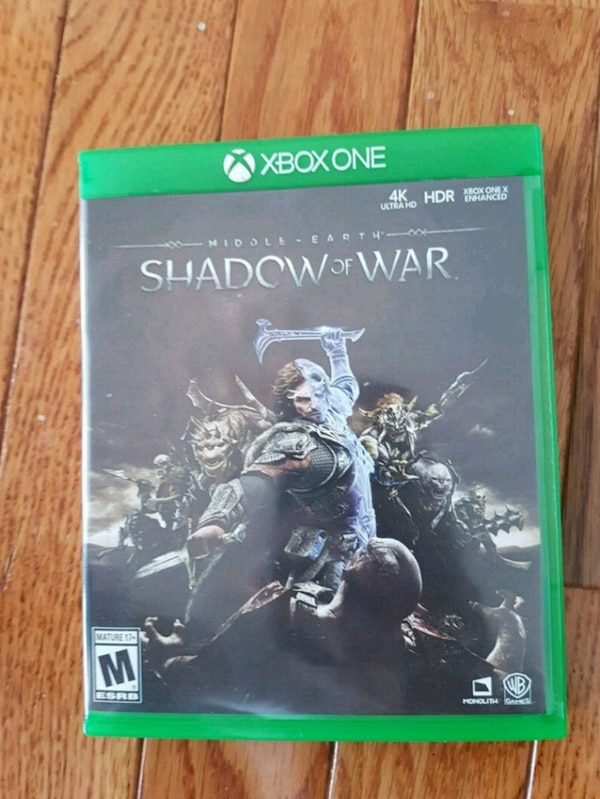 Xbox One Middle Earth: Shadow of War