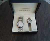 Geneva His and Hers quartz watches