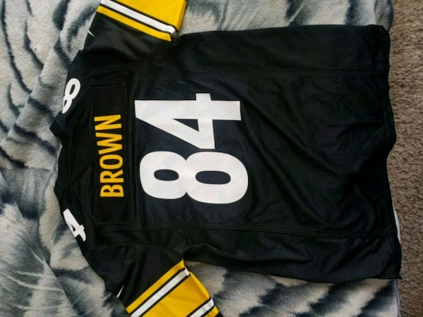 reputable site a69e8 efbc5 Pittsburgh Steelers Jersey Adult Small