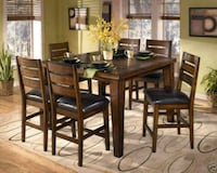 7pc counter height dining set  Cambridge, N3C 4G5