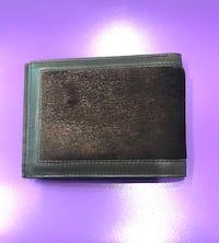 Men's Leather Wallet with Fur Moorpark, 93021