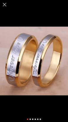 Matching***Engraved***forever love***Rings/Bands!!