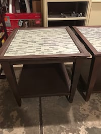 2 matching end tables 896 mi
