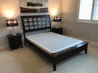 Queen Sleigh Bed from Mobilia Oakville, L6M 0T8