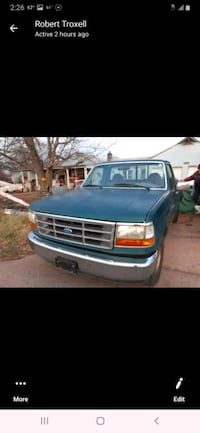 1996 Ford XL two-door regular cab two-wheel-drive drive