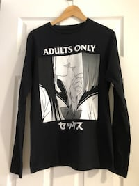 Adults only anime girl long sleeve