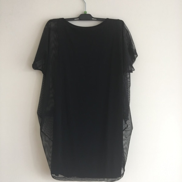 Cute mesh top with drawstring in great condition - one size only