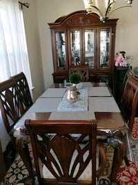 wooden table with chairs dining Laurel, 20707