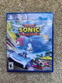 Ps4 Controller and sonic racing game Glen Burnie, 21061