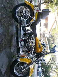 yellow and black cruiser motorcycle Tampa, 33604
