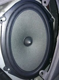 black and gray subwoofer speaker 2251 mi