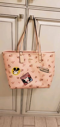 Minnie Mouse Coach bag and wallet set