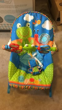 Green and blue fisher price bouncer Ajax, L1Z 0A2