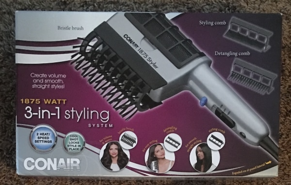 Conair 1875 Watt 3-in-1 Styling Hair Dryer