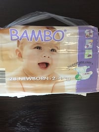 NEW BORN BAMBO DIAPERS  Lethbridge, T1K 5R9