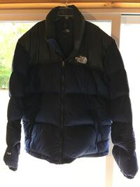 black The North Face zip-up jacket Central Square, 13036