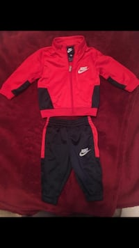 Red and blue Nike sweat suit 3-6 months Cincinnati, 45232