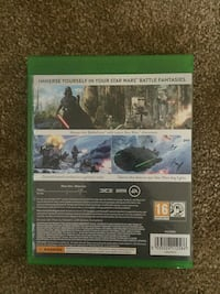 Xbox One Star wars caso de jogo battlefront