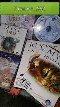 MYST...PC GAME Mint condition disc (s)   Pick up i