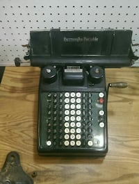 Vintage Burroughs Portable adding machine Billings, 59105