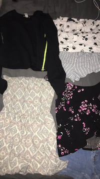 Clothing lot. More items then pictured, small-Med.  message for details.  832 mi