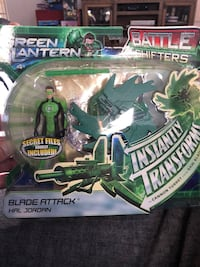 Brand new Green Lantern Battle Shifter Bristow, 20136